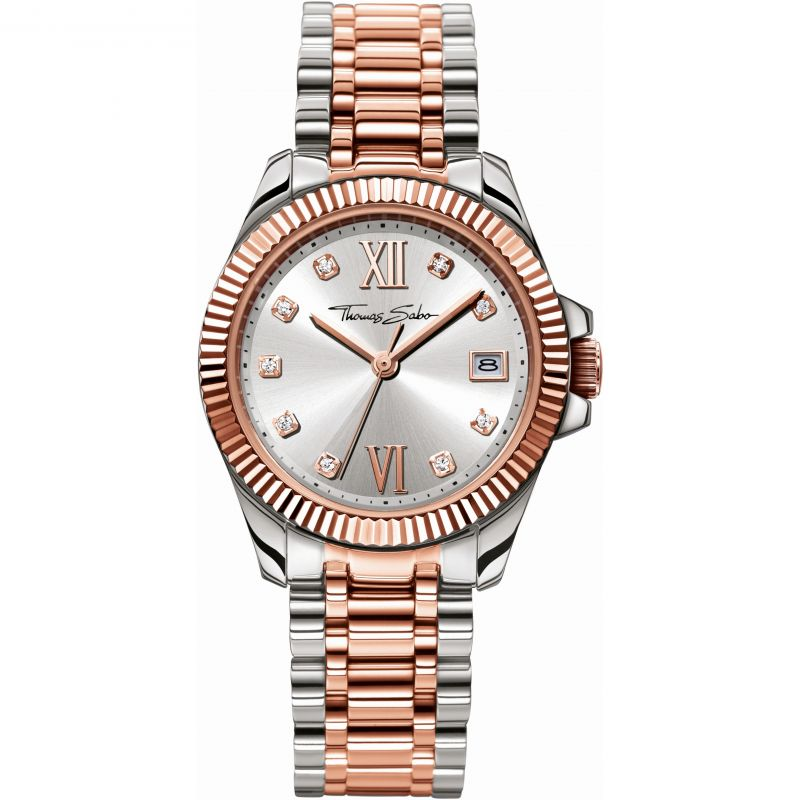 Image of  			   			  			   			  Ladies Thomas Sabo Divine Watch