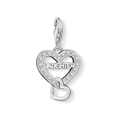 Thomas Sabo Dames Charm Club Daughter Charm Sterling Zilver 1267-051-14