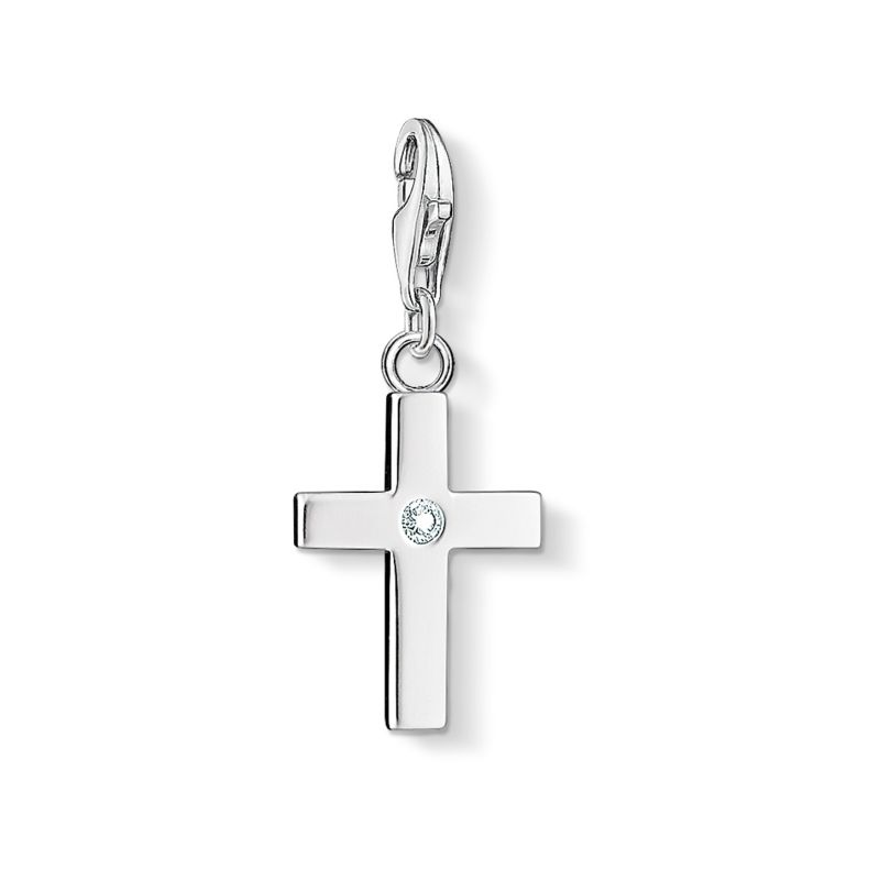 Thomas Sabo Charm Club Cross Charm 0366-051-14