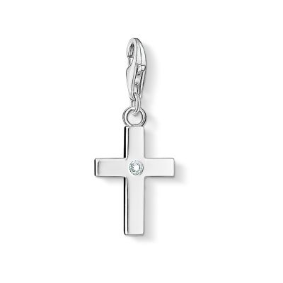 Gioielli da Donna Thomas Sabo Jewellery Charm Club Cross Charm 0366-051-14