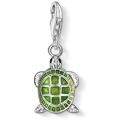 Ladies Thomas Sabo Sterling Silver Charm Club Turtle Charm 0837-007-6