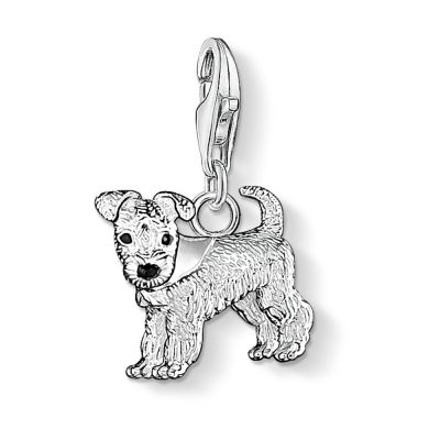 Ladies Thomas Sabo Sterling Silver Charm Club Dog Charm 0841-007-12