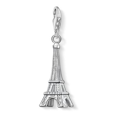 Thomas Sabo Dames Charm Club Eiffel Tower Charm Sterling Zilver 0029-001-12