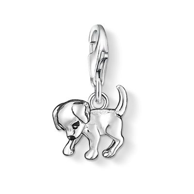 Thomas Sabo Dames Charm Club Puppy Charm Sterling Zilver 0885-007-12