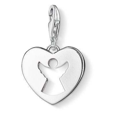 Thomas Sabo Dam Charm Club Guardian Angel Charm Sterlingsilver 0869-001-12