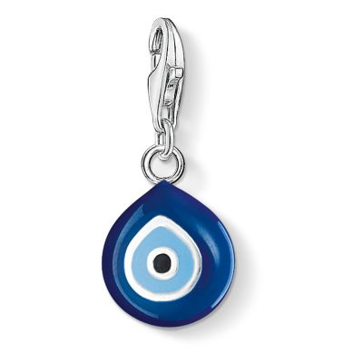 Thomas Sabo Dam Charm Club Turkish Eye Charm Sterlingsilver 0829-007-1