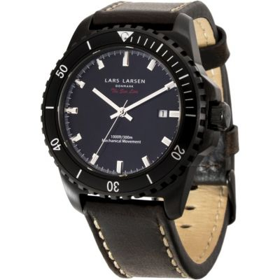 Mens Lars Larsen Sea Lion Watch 150CBDBL