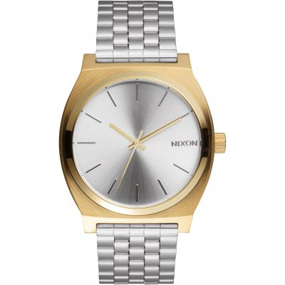 Nixon The Time Teller Unisexklocka Silver A045-2062