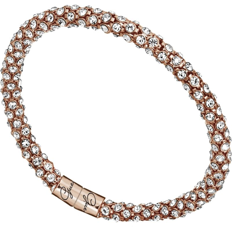 Ladies Guess Glamazon Rose Gold Bracelet UBB81334