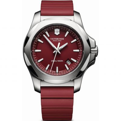 Victorinox Swiss Army INOX INOX Herrenuhr in Rot 241719.1