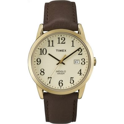 Timex Classic Easy Reader Herrenuhr in Braun TW2P75800