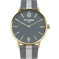Mens Ben Sherman London Portobello Stripe Watch