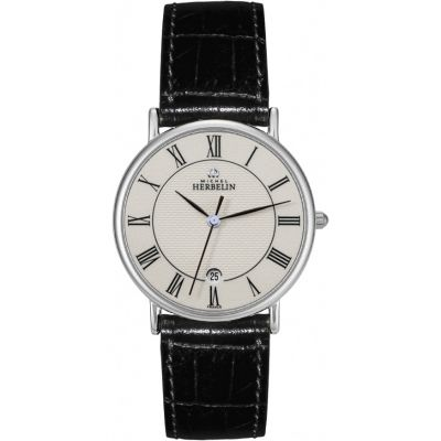 Mens Michel Herbelin Classic Sonates Watch 12443/S08