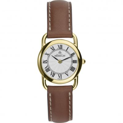Ladies Michel Herbelin Heritage Equinoxe Watch 17467/P08GO