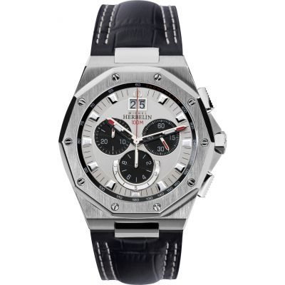 Mens Michel Herbelin Odyssee Chronograph Watch 36635/23