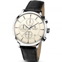 Mens Accurist London Vintage Chronograph Watch 7033