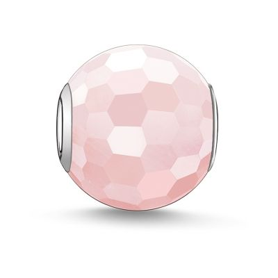 Biżuteria damska Thomas Sabo Jewellery Karma Beads - Rose Quartz Bead K0005-034-9