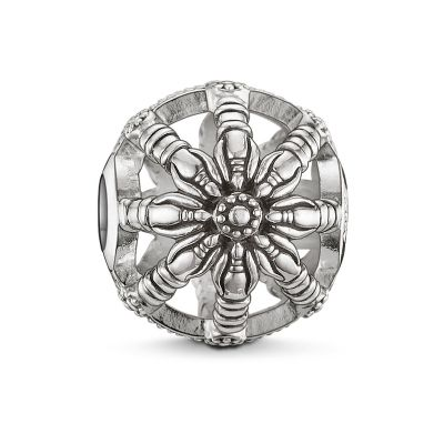 Thomas Sabo Dam Karma Beads Small Karma Wheel Bead Sterlingsilver K0016-001-12