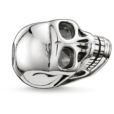 Thomas Sabo Dames Karma Beads Small Skull Bead Sterling Zilver K0064-001-12