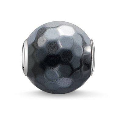 Biżuteria damska Thomas Sabo Jewellery Karma Beads - Hematin Faceted Bead K0100-064-5