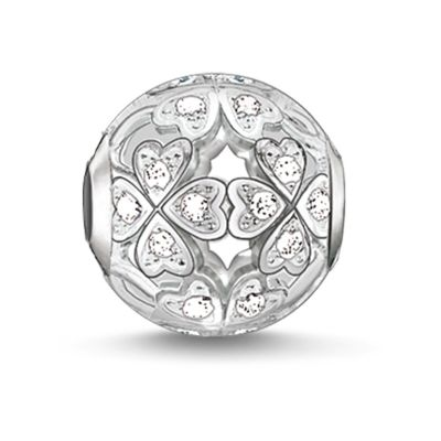 Ladies Thomas Sabo Sterling Silver Karma Beads - Clover Leaf Bead K0134-051-14