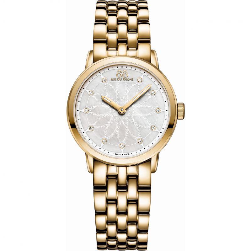 Ladies 88 Rue Du Rhone Double 8 Origin Diamond Watch