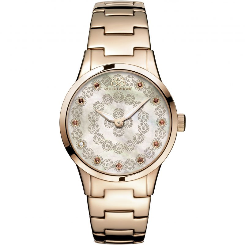 Ladies 88 Rue Du Rhone Rive Diamond Watch