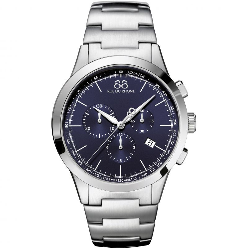 Mens 88 Rue Du Rhone Rive Chronograph Watch 87WA154305
