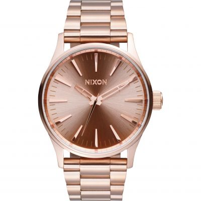 Unisex Nixon The Sentry 38 SS Watch A450-897