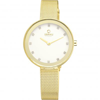 Ladies Obaku Blik Watch V161LXGIMG