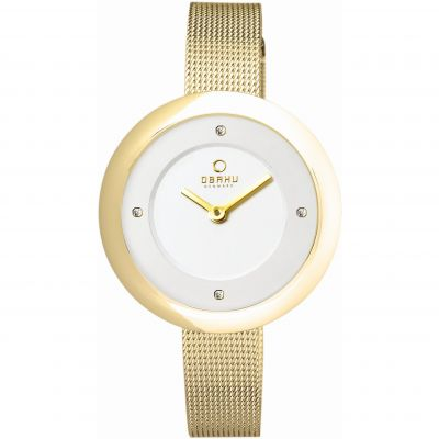 Ladies Obaku Lyng Watch V162LXGIMG