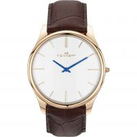Mens Kennett Kensington Rose Gold White Dark Brown Watch KRGWHDKBRN