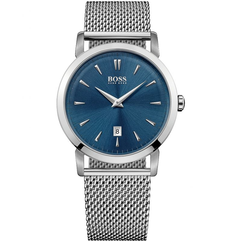 Mens Hugo Boss Slim Ultra Round Watch 1513273