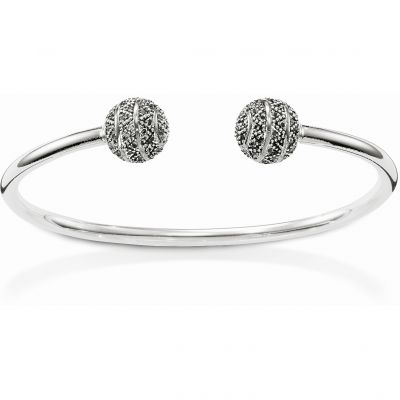 Ladies Thomas Sabo Sterling Silver Bangle AR078-643-11-L