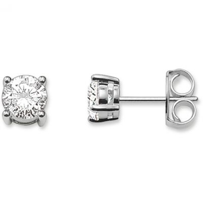 Thomas Sabo Dam Glam & Soul Stud Earrings Sterlingsilver H1739-051-14