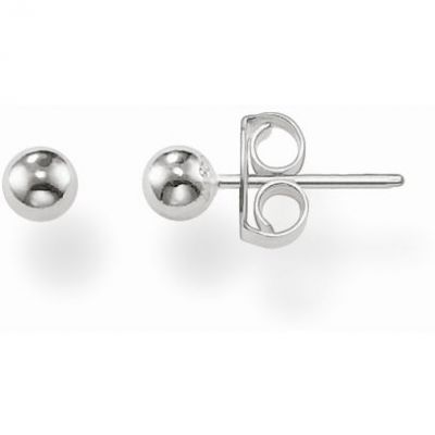 Ladies Thomas Sabo Sterling Silver Stud Earrings H1845-001-12