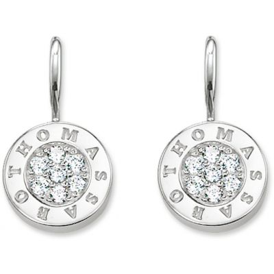 Damen Thomas Sabo Glam & Soul Drop Ohrringe Sterling-Silber H1862-051-14