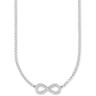 Ladies Thomas Sabo Sterling Silver Glam & Soul Eternity of Love Necklace KE1312-051-14