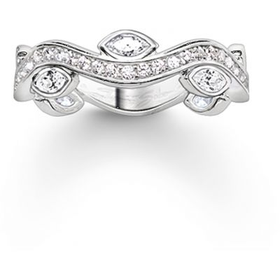 Thomas Sabo Dam Ring Sterlingsilver TR2011-051-14-56
