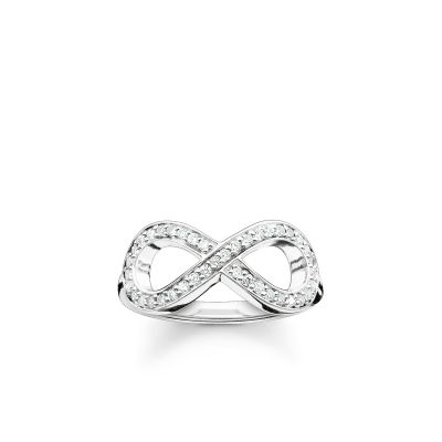 Damen Thomas Sabo Size M.5 Glam & Soul Infinity Ring Sterling-Silber TR2014-051-14-52