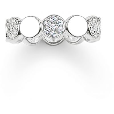 Thomas Sabo Dam Ring Sterlingsilver TR2048-051-14-56