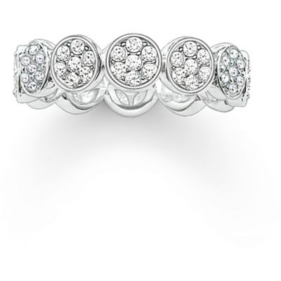 Thomas Sabo Dam Ring Sterlingsilver TR2049-051-14-54