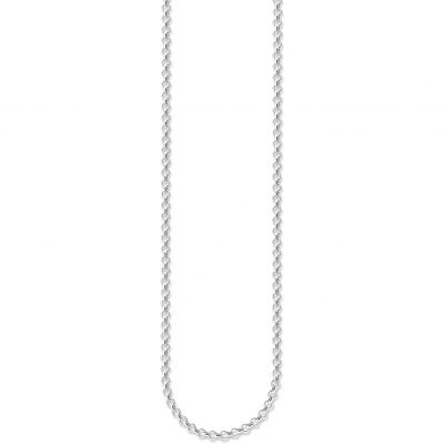 Ladies Thomas Sabo Sterling Silver Charm Club Mini Belcher Chain X0001-001-12-S