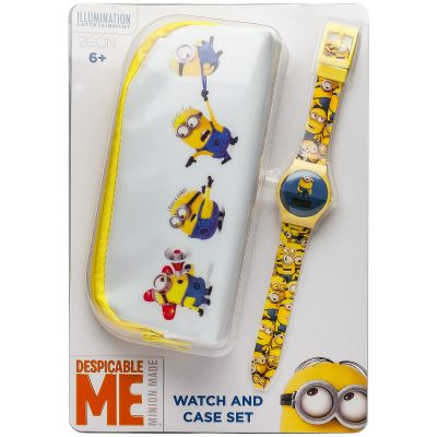 Zegarek dziecięcy Character Despicable Me Minions Gift Set MNS15SET