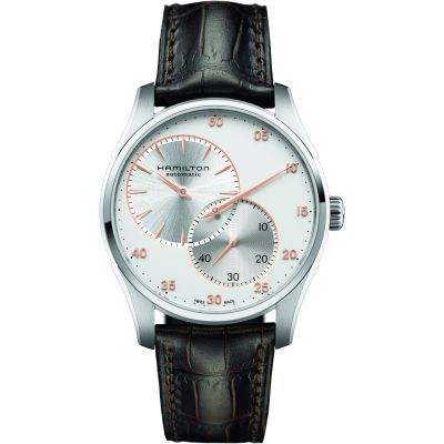 Hamilton Jazzmaster Regulator Herrenuhr in Braun H42615553