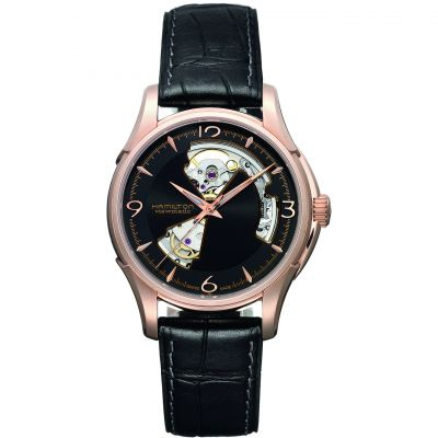 Mens Hamilton Jazzmaster Open Heart Automatic Watch H32575735