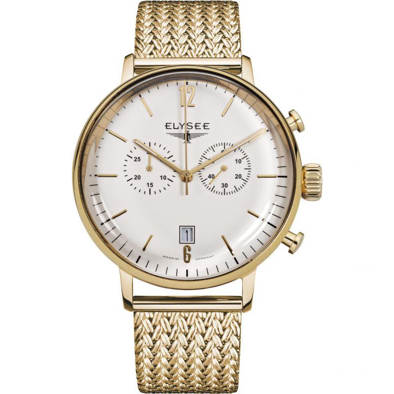 Mens Elysee Stentor Chronograph Watch