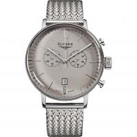 Mens Elysee Stentor Chronograph Watch