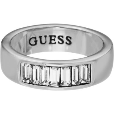 Ladies Guess Stainless Steel Size L.5 Ring UBR51401-52
