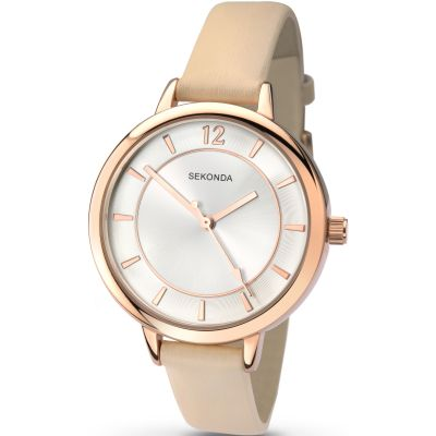 Sekonda Summertime Editions Damenuhr in Cremefarben 2137
